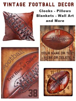 Custom Vintage Football Decor for Man Cave | YourSportsGifts.comYourSportsGifts.com  sc 1 st  YourSportsGifts.com & Custom Vintage Football Decor for Man Cave | YourSportsGifts ...